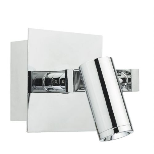Bex 1 Light Wall Bracket Polished Chrome (Class 2 Double Insulated) BXBEX0750-17